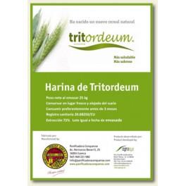 Harina Tritordeum